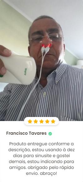 aparelho para rinite rinite free 5