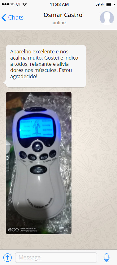 feedback massageador eletroestimulador 3
